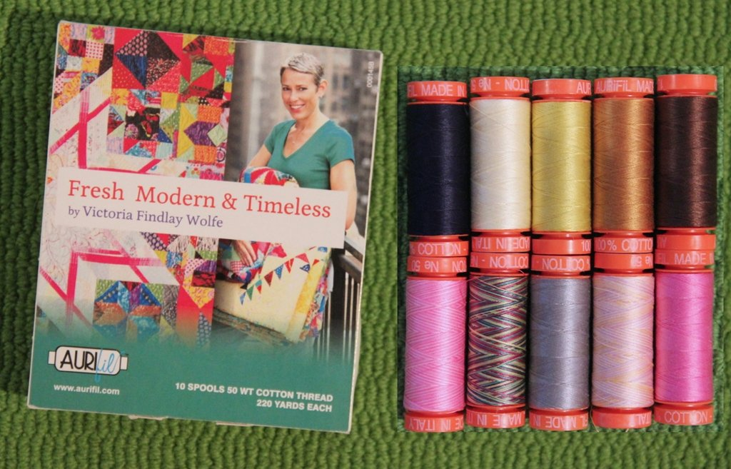 Aurifil Premium Collection - Victoria Findlay Wolfe Small Spools