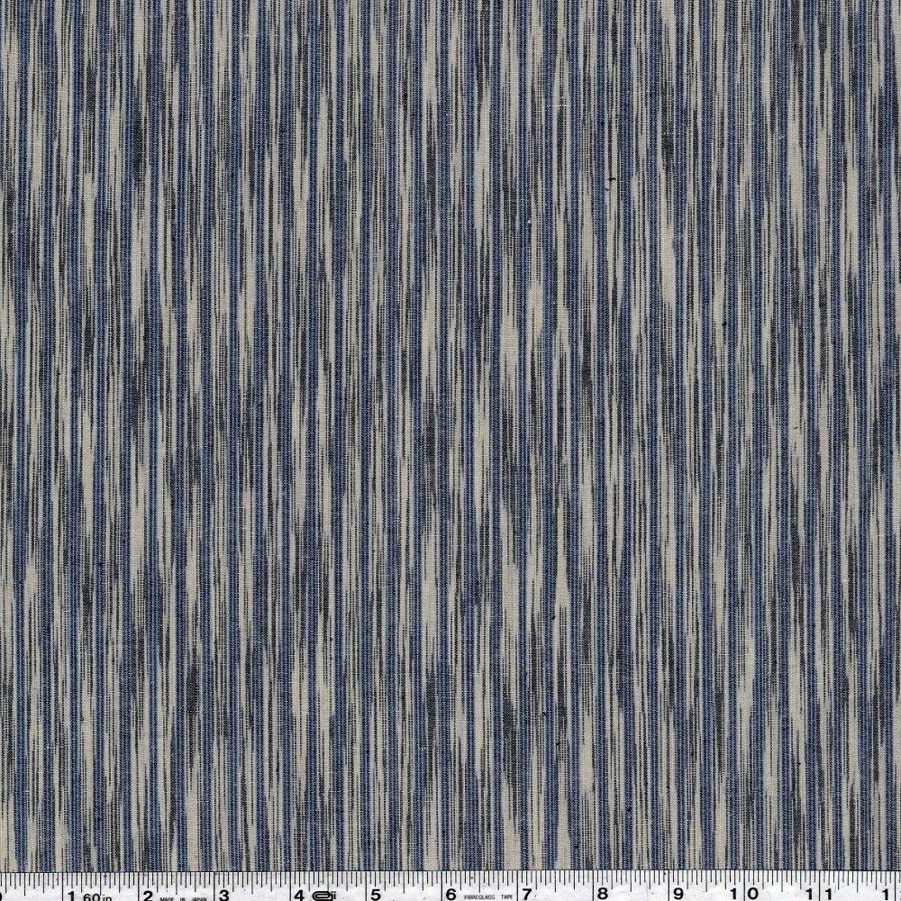 Dream Weaves - Ikat Texture - Blue