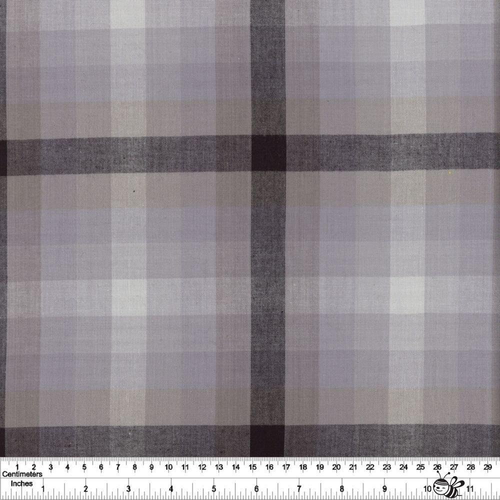 Kaleidoscope Stripes & Plaids - Plaid - Charcoal