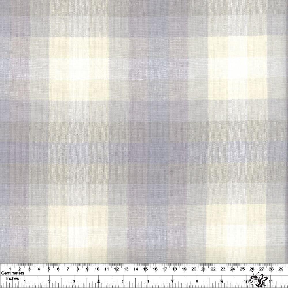 Kaleidoscope Stripes & Plaids - Plaid - Cloud