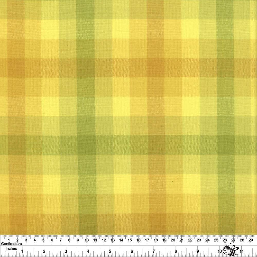 Kaleidoscope Stripes & Plaids - Plaid - Sunshine