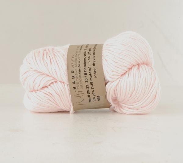 Habu - Bamboo - Powder Pink