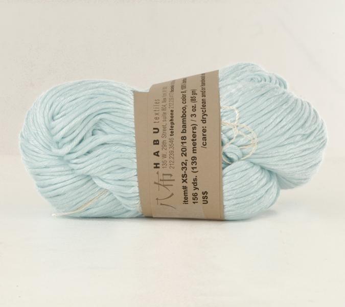 Habu - Bamboo - Baby Blue