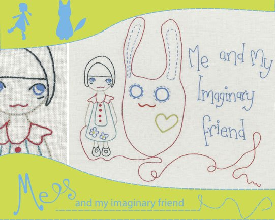 Holly Wolfe Embroidery Kit - Me and My Imaginary Friend