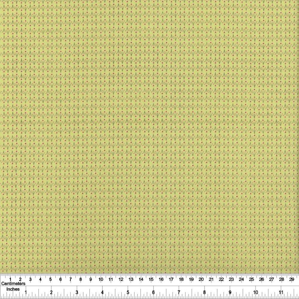 Summer Sampler - Mini Floral - Light Olive