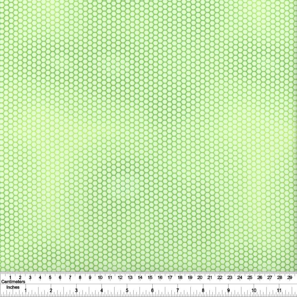 Flower Talk - Honeycomb - Light Green