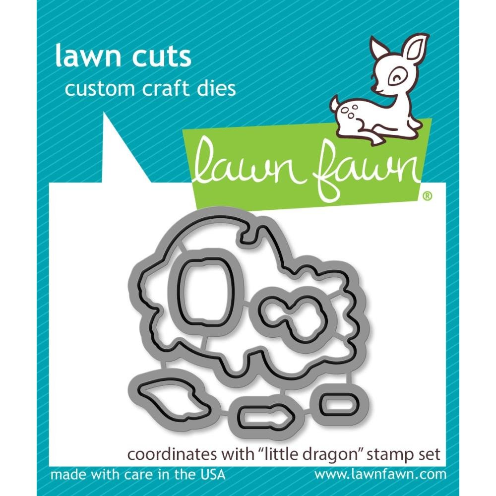Lawn Fawn- Little Dragon Dies