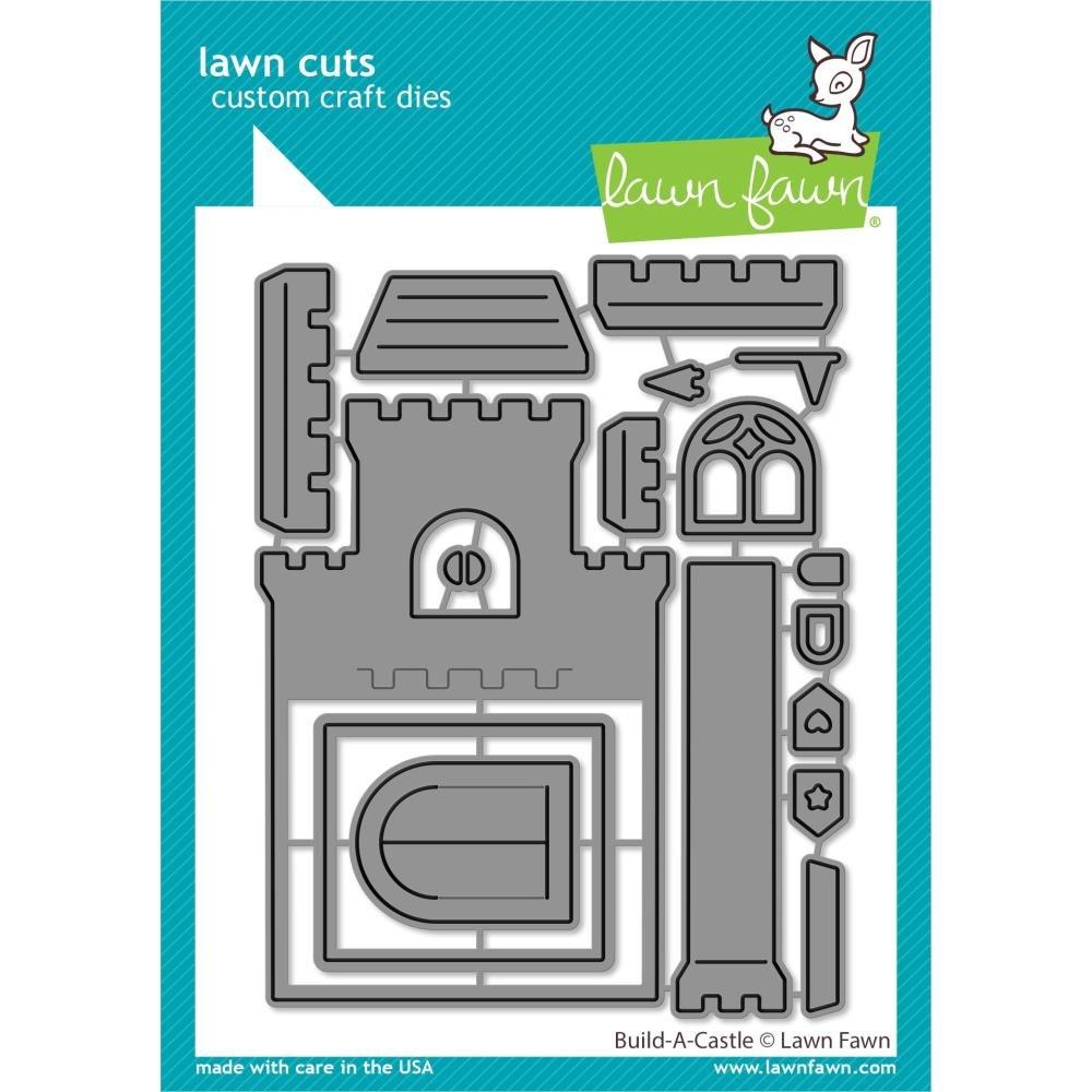 Lawn Fawn- Build a Castle Dies