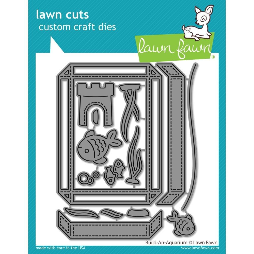 Lawn Fawn- Build-an-Aquarium Dies