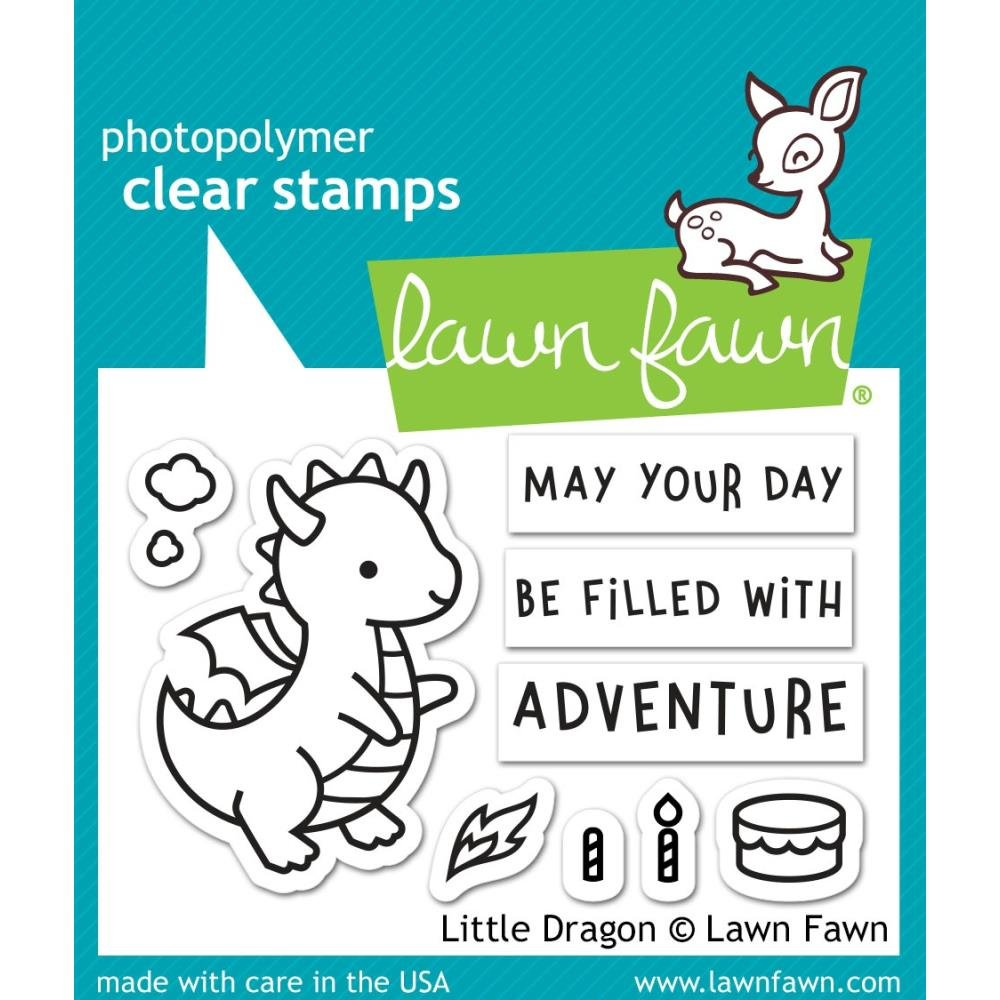 Lawn Fawn- Little Dragon Stamps