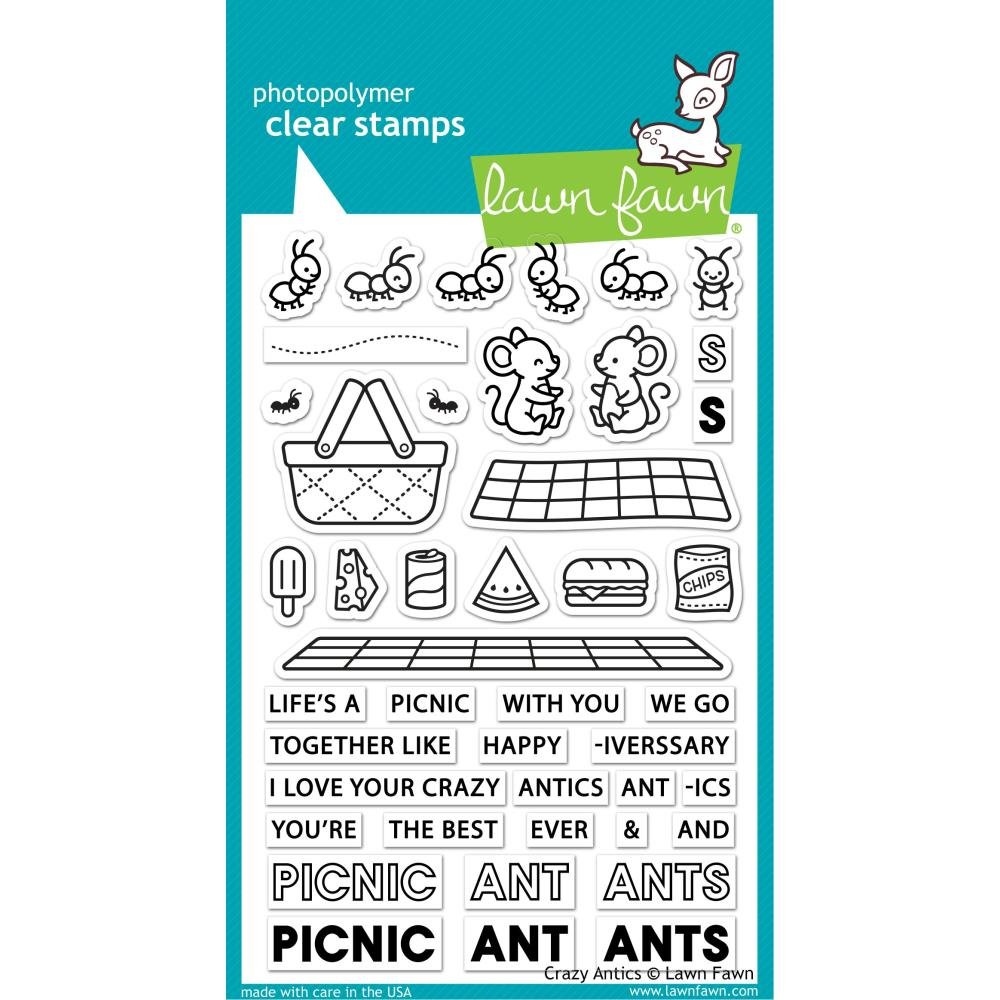 Lawn Fawn- Crazy Antics Stamps