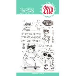 Avery Elle Clear Stamp Set 4X6-Stay Cool