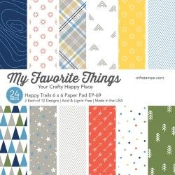 My Favorite Things Single-Sided Paper Pad 6X6 24/Pkg-Happy Trails