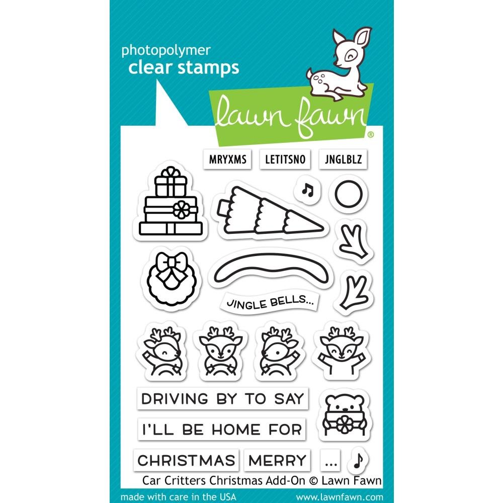 Car Critters- Christmas Add-On Stamps