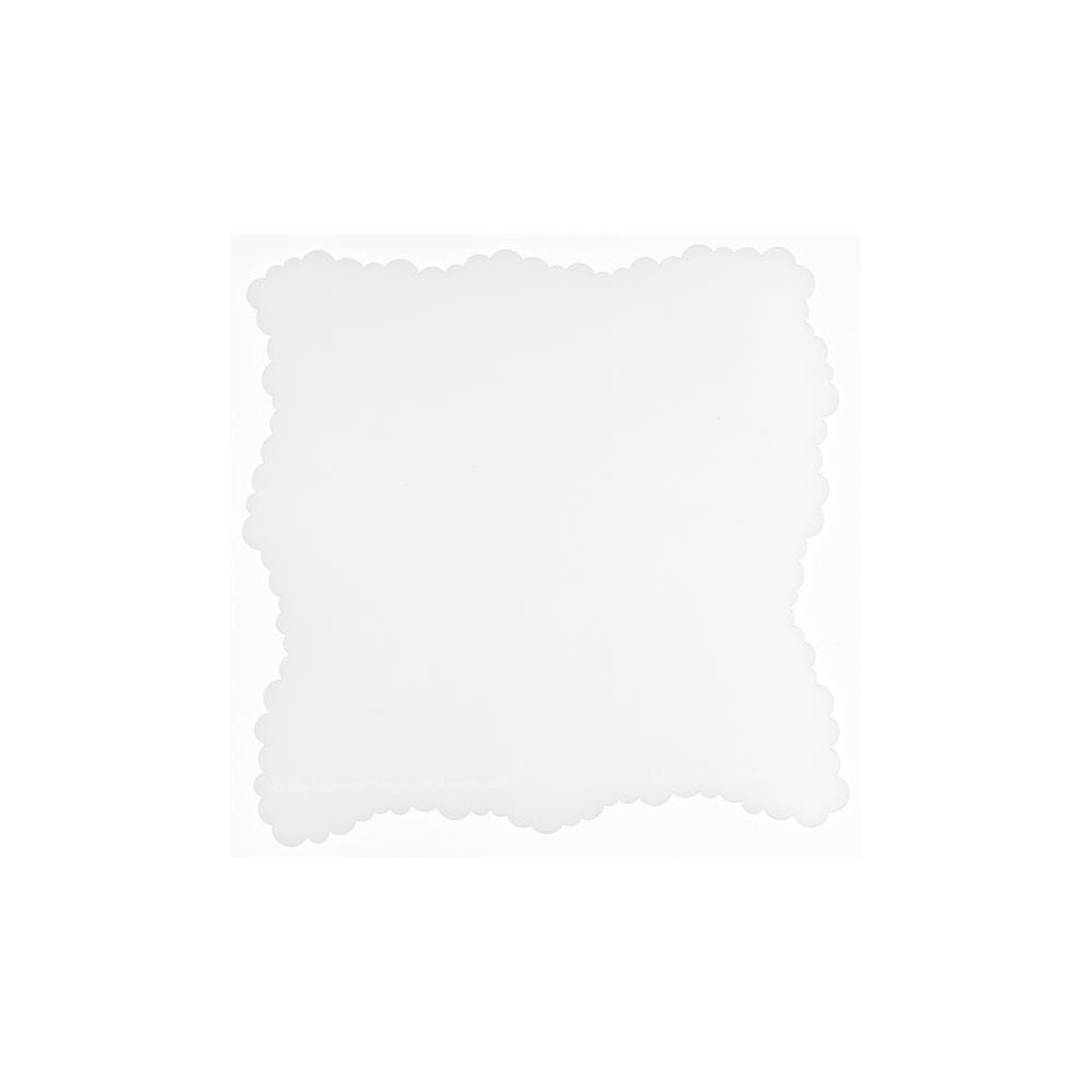Micro Cloud Edges Stencil