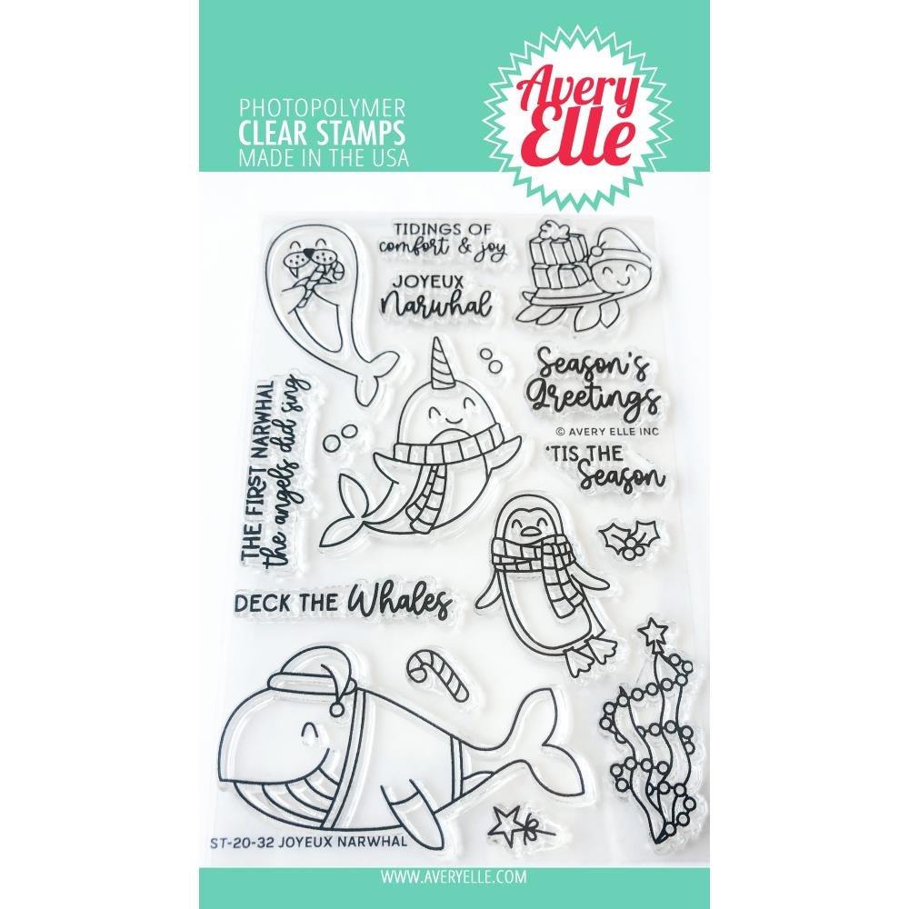 AE- Joyeux Narwhal Stamp Set