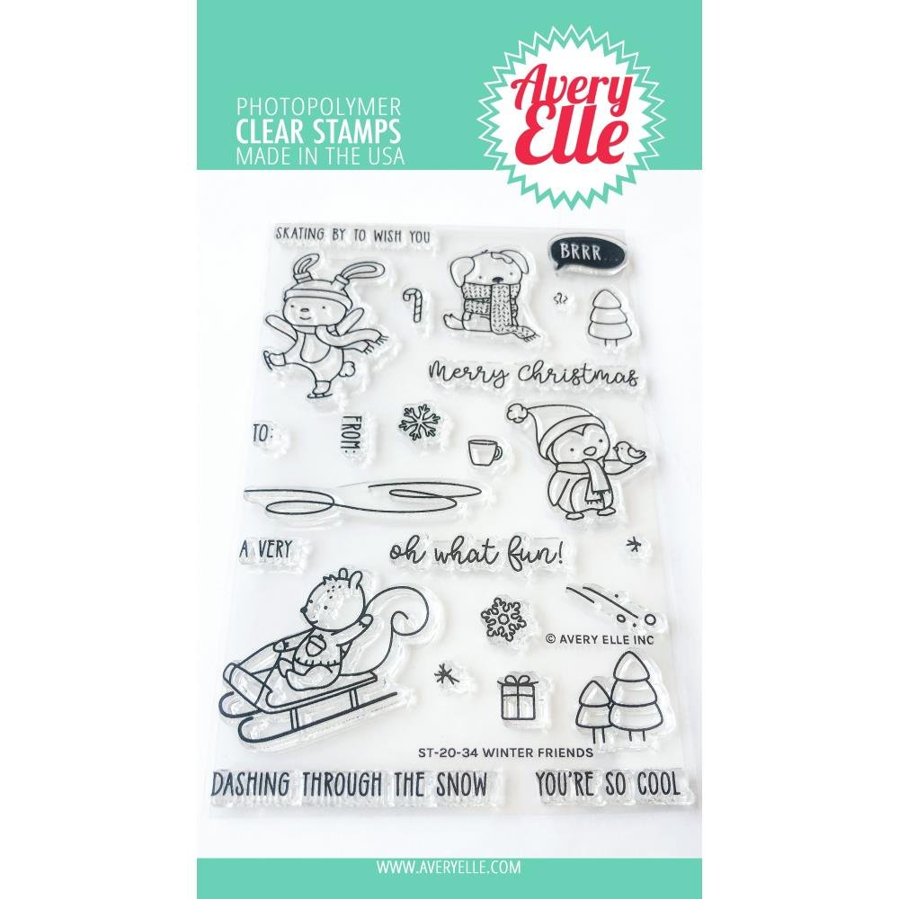 AE- Winter Friends Stamp Set