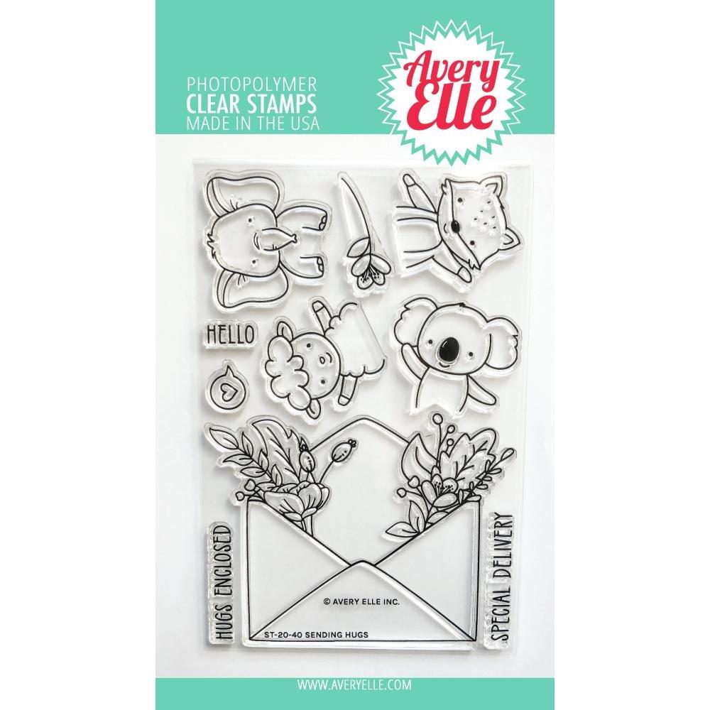 Avery Elle Sending Hugs Stamp