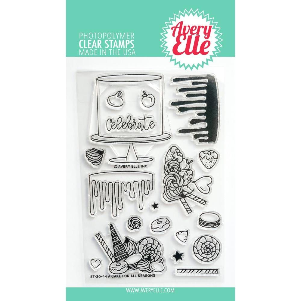 Avery Elle Cake For All Seasons Stamp