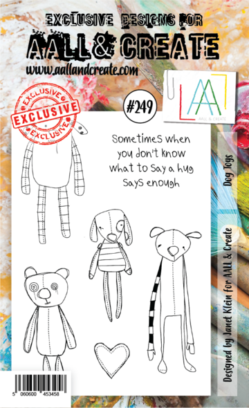 AALL & Create Stamps- Dog Toys