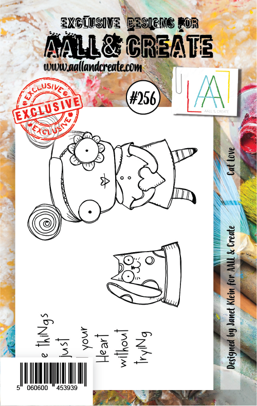 AALL & Create Stamps- Cat Love