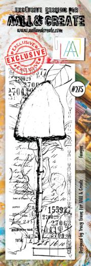 AALL & Create Border Stamp- Fungus