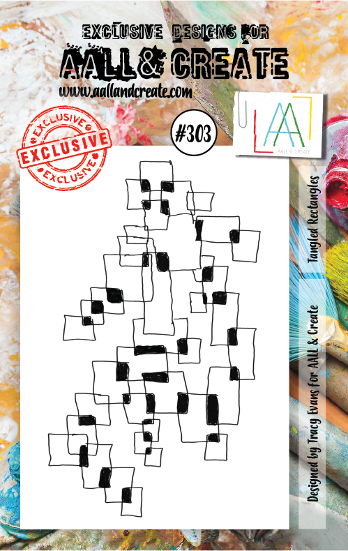 AALL & Create Stamps- Tangled Rectangles