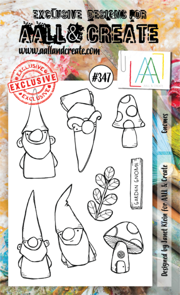 AALL & Create Stamps- Gnomes