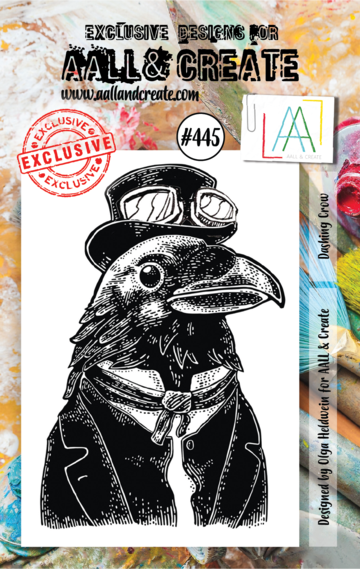AALL & Create Stamps- Dashing Crow