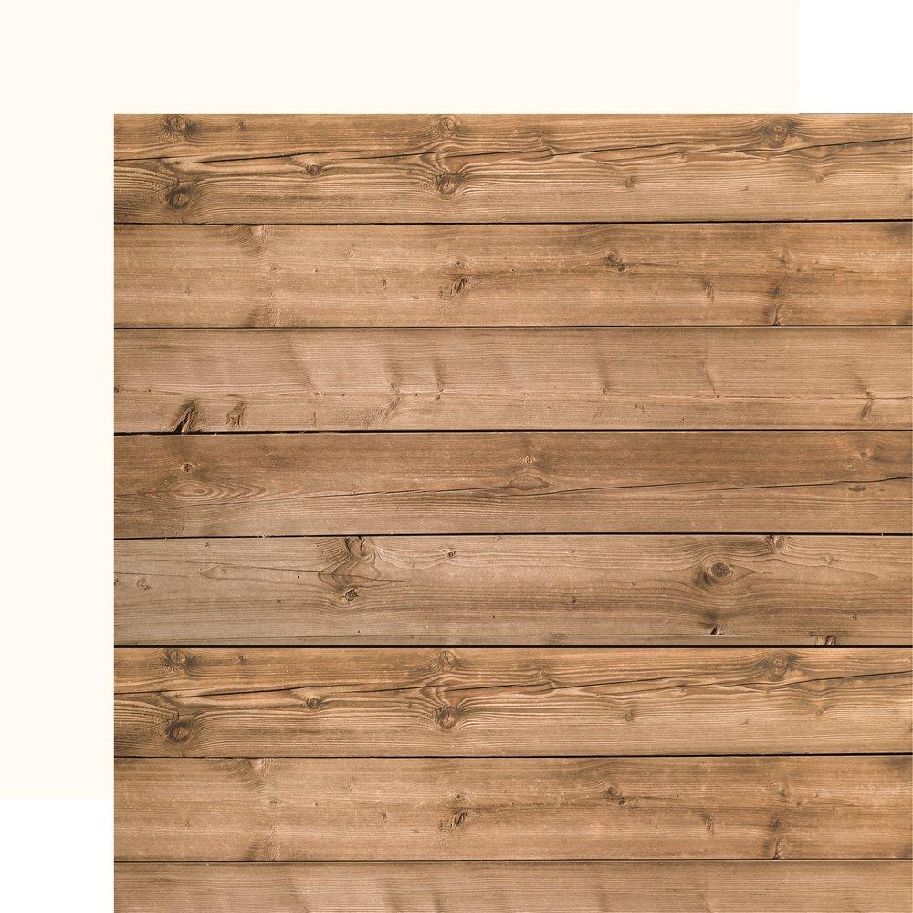 America Cardstock Woodgrain/Cream