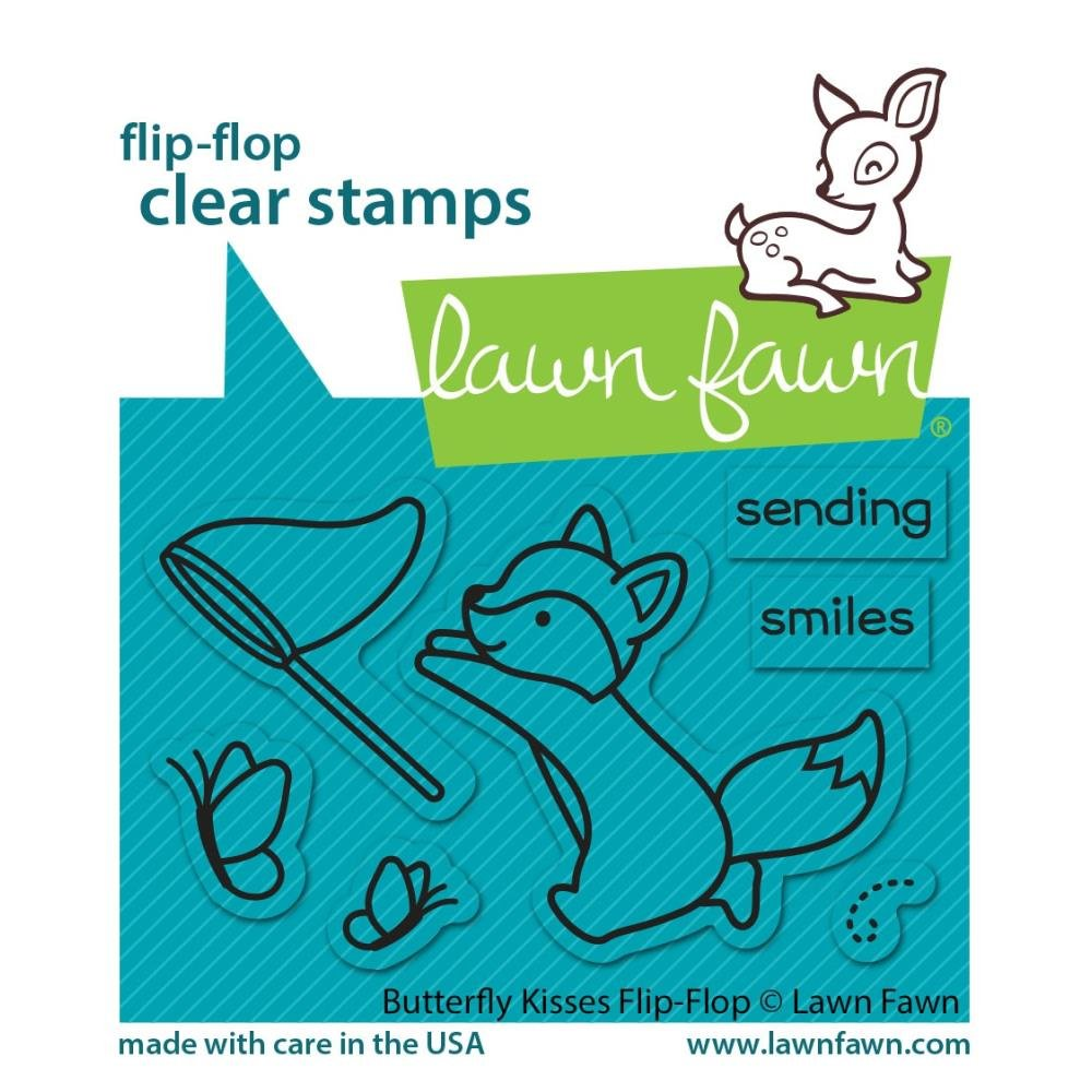 Butterfly Kisses Flip Flop- Stamp Set