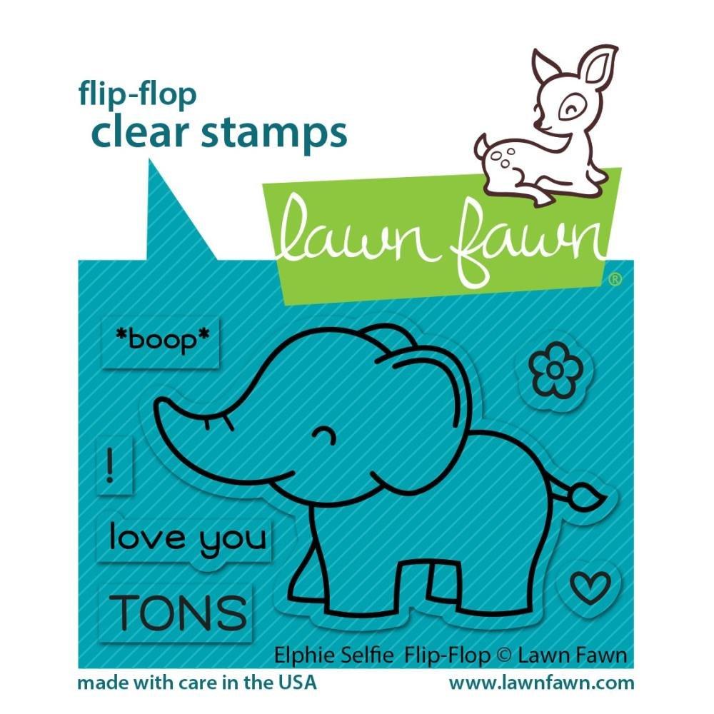 Elphie Selphie Flip Flop- Stamp Set