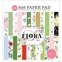 Flora No 4- 6x6 Paper Pad