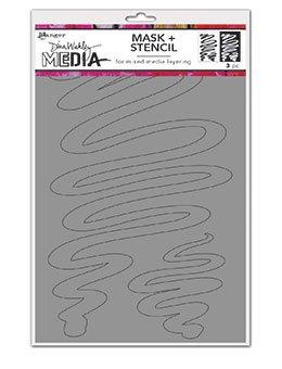 DWM Stencil- Meandering Masks