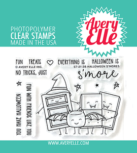 Halloween S'mores Clear Stamps