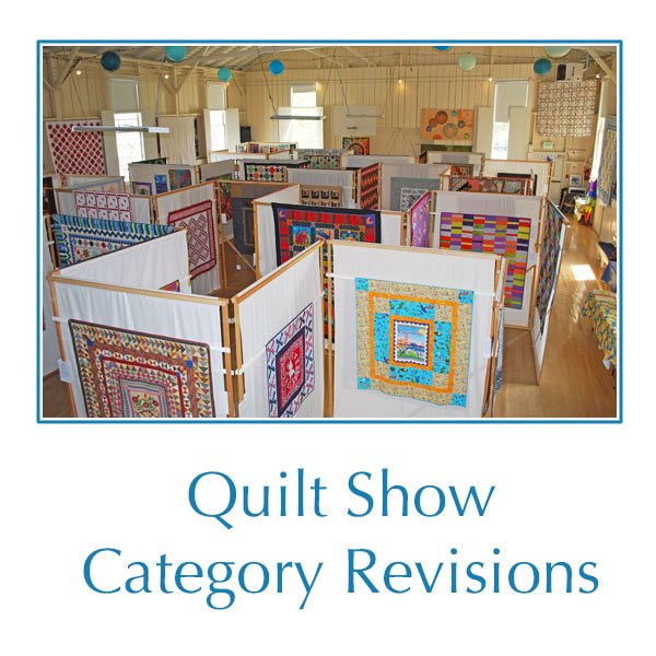 Quilt show revisions