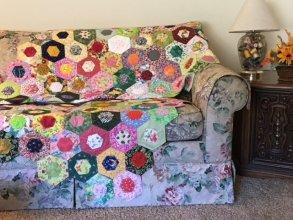 CQFG hexie quilt