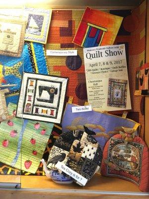 Monterey Library Mini Quilt Display