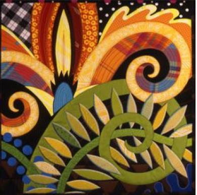 Jane Sassaman quilt