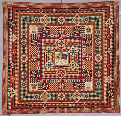 Quilts made by men coming to the American Folk Art Museum