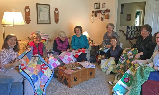 Charity Quilt Friendship Group November 2017