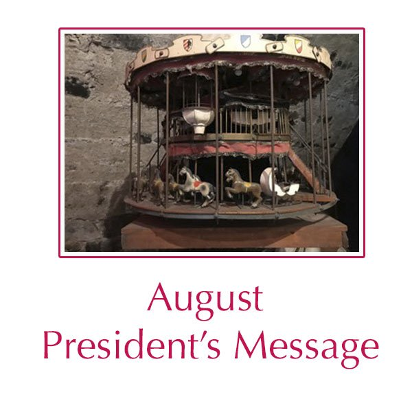 President's Message for August