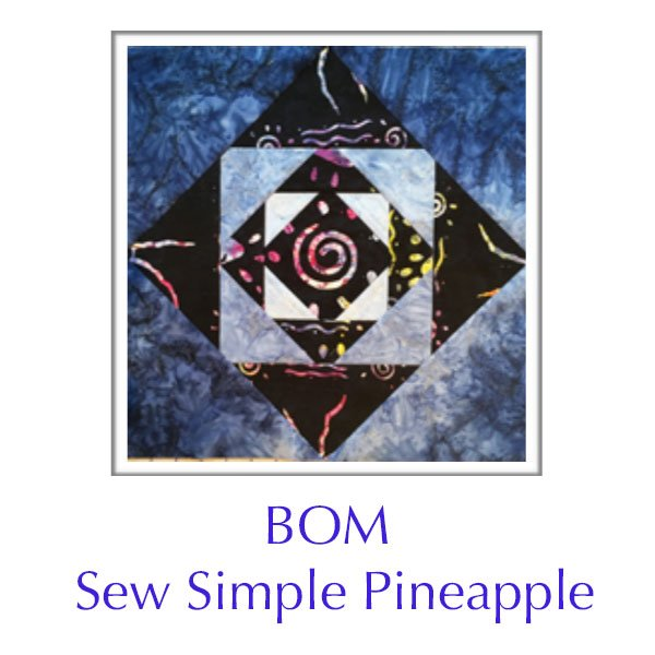 Sew Simple Pineapples