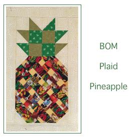 Plaid Pineapples