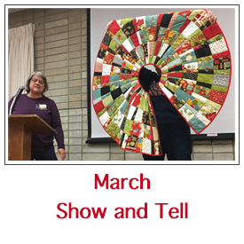 March show and tell