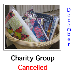December Meeting Cancelled