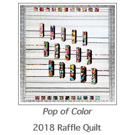 2018 Raffle Quilt