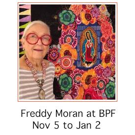 Freddy Moran at Back Porch Fabrics