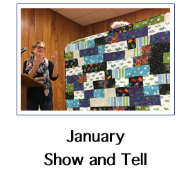 January show and tell