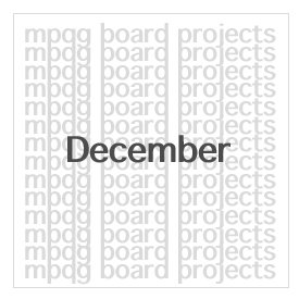 Board Projects for December